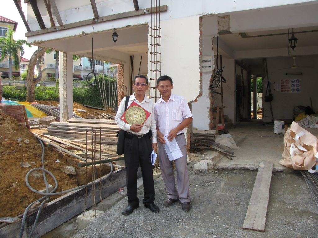 home and office feng shui audit in singapore